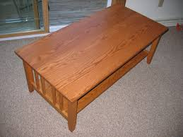 Craftsman Style Coffee Table Chris Project Page Craftsman Style Coffee Table Done Square Lift