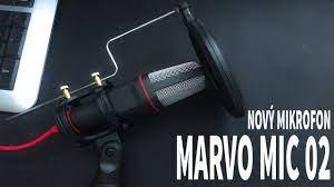 NOVÝ MIKROFON MARVO-MIC-02 - YouTube