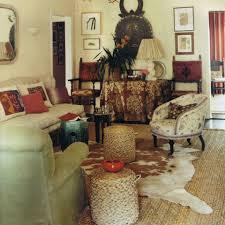 Decorations:Captivating Bohemian Interior With Pink Tufted Sofa Also Batik  Sofa Pillows Astounding Bohemian Decoration