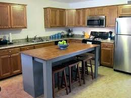 How To Build A Kitchen Island With Seating Brilliant Great Kitchen