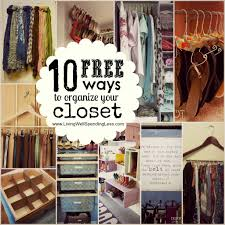 10 free ways to organize your closet and love your wardrobe