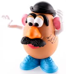 mr potato head mustache. Exellent Mustache Don Rickles Signed Mr Potato Head  Inside Mr Mustache O