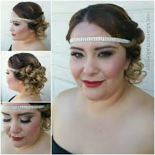 gatsby hair and makeup roaring 20s vine look