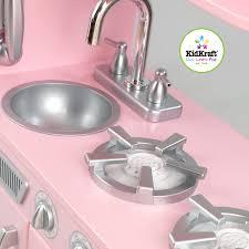 kidkraft vintage play kitchen pink the kids kitchens toy company