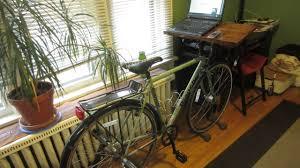 how to make a bike desk