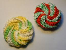 Free Crochet Patterns For Scrubbies Stunning Crochet A Spiral Scrubbie My Recycled Bags