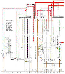 volt electric porsche color wiring diagram