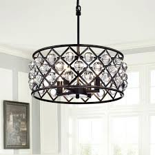 crystal drum chandelier crystal drum lighting