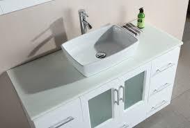 Square Sinks Bathroom Clever Design Ideas White Vessel Bathroom Sink Kraus Rectangular