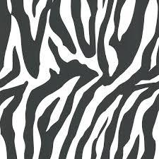 white zebra print wallpaper swatch homebase contemporary