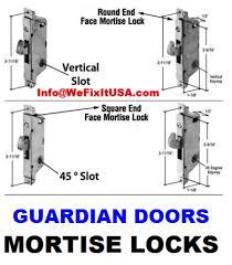 old patio door hardware and restoration