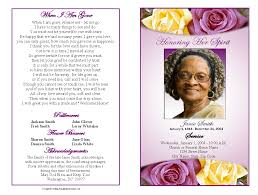 sample of obituary best photos of funeral program covers free funeral program