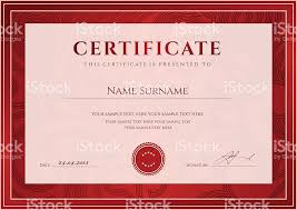 certificate diploma template red award background design  certificate diploma template red award background design floral pattern royalty stock