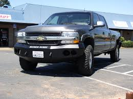Chevy Models — Winch Ready Bumpers