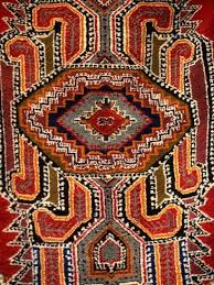 colorful rug artwork casablanca morocco photographic print