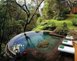 natural looking in ground pools. Someone Natural Looking In Ground Pools A