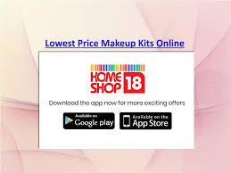 lowest makeup kits n