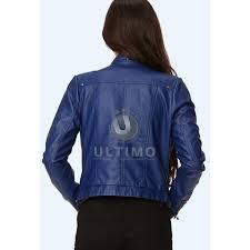real leather jackets womens blue women slim fit stylish leather jacket real leather jackets womens uk