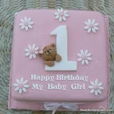Girl First Birthday Cake Birthdaycakeforkidscf