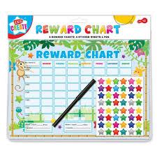 Lego Batman Reward Chart Kids Create Reward Chart 6pc Set With Stickers Pen
