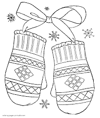 It's wonderful that, through the process of drawing and coloring, the learning about things around us does not only become joyful. Winter Coloring Pages For Kids Coloring Home