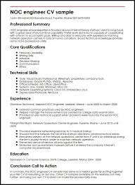 Ascii Resume Samples Noc Resume Sample Free Professional Resume Templates Download No