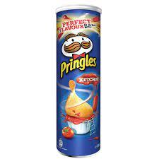 Pringles Ketchup Stapelchips mit Tomaten