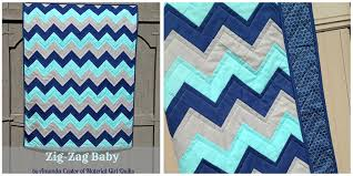 Quilt Patterns For Beginners Custom Free Zigzag Quilt Pattern Sewing For Beginners