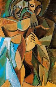 friendship 1908 pablo picasso by style ytical cubism