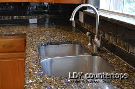 kitchen recycled glass countertops chicago il