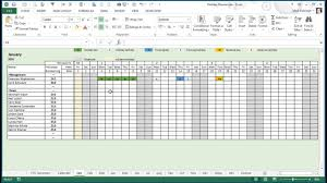 Any Year Holiday Training Absence Planner For Excel