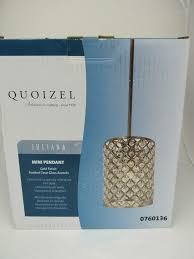 detalles acerca de quoizel juliana mini colgante oro acabado facetado acentos de vidrio transpae 0760136 mostrar título original
