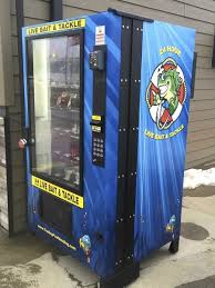 Used Live Bait Vending Machine For Sale Simple Live Bait Vending Machine To Make Fishing Easier For Redfield