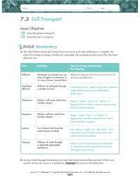 Tissue Chart Answer Key 249883860 Biology 7 3 And 7 4 Ws Key