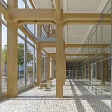 Wooden office buildings Wood Tamedia Office Building Shigeru Ban Architects Archdaily Tamedia Office Building Shigeru Ban Architects Archdaily