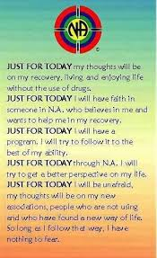 Just For Today Quotes Mesmerizing Just For TodayLive In TodayOne Day At A Time Addiction And