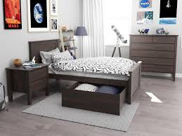 kids bedroom furniture stores. Hardwood Single Bedroom Suite With Storage Brown Timber Stain Modern Kids Furniture Stores