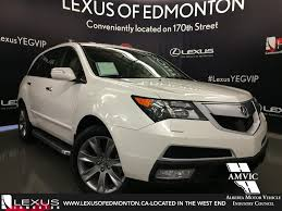 Used White 2013 Acura MDX AWD Elite Pkg Walkaround Review ...