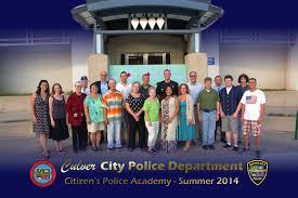 Citizens Police Academy Culver City Police Department