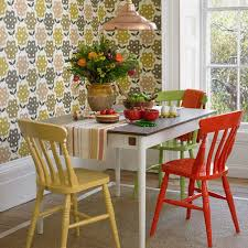 small dining room chairs. Small Dining Room With Table And Colored Chairs R