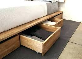 Raised Storage Bed Awesome Queen Platform Storage Bed Collection
