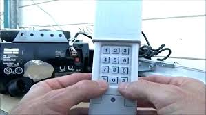 sears garage door opener keypad craftsman programming smart learn on rare how battery size cr