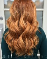 Balayage Red Hair Strawberry Blonde Hair