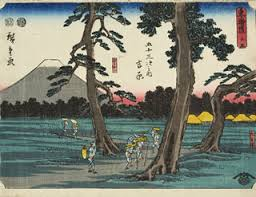 Bildergebnis für japanische holzschnitte von Landschaften Hiroshige