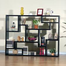 Decorations:Hidden Bookshelf In The White Wall With The Same White Tone  Matches The Interior