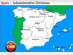 powerpoint map templates spain map template spain powerpoint background template spain