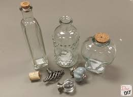 Decorative Glass Jars With Lids How to Make Glass Jars with Decorative Cork Stoppers 47