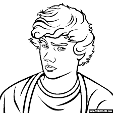 liam payne one direction online coloring pages starting with the letter l (page 5) on lil wayne template