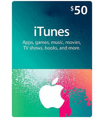 itunes gift card 50 us email