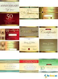 Векторный клипарт Сертификаты Дипломы и Юбилеи ai eps  Скачать Векторный клипарт Сертификаты Дипломы и Юбилеи ai eps